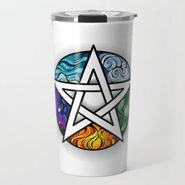 Bright Pentagram Travel Mug