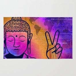 Buddha World Peace Rug