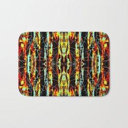 Colorful Indian Pattern Bath Mat