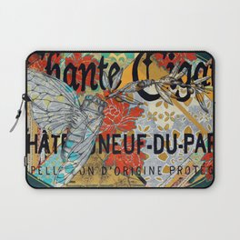 Chante Cigale Laptop Sleeve