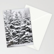 Winter Frosting Stationery Cards
