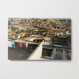 Lost in the Medina Metal Print