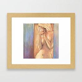 """""""Wait"""" Framed Art Print"""