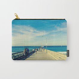 Pier Blue Carry-All Pouch