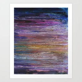 Underlying Layers Art Print