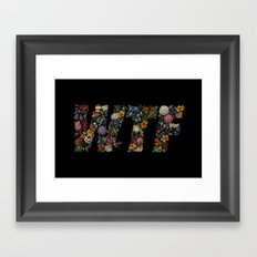 Water the Flowers Framed Art Print