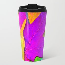 Vivid Leaves #1 Travel Mug
