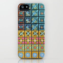 """Country Patchwork (i)"" by ICA PAVON iPhone Case"