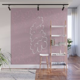 Thinking bubble Wall Mural