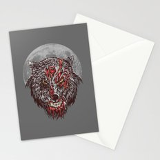 Zombie Wolf Stationery Cards