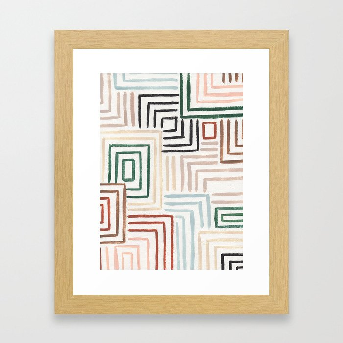 Maize Framed Art Print