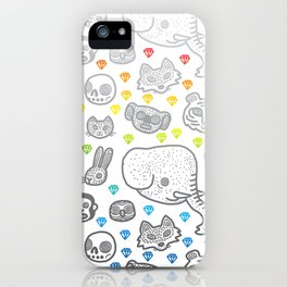 Hypno Animals iPhone Case