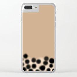 Bubble Tea Clear iPhone Case