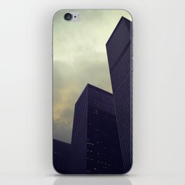 building trio iPhone Skin