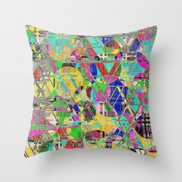 Impossible weave Throw Pillow