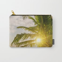 Surin beach at sunset Carry-All Pouch