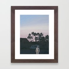 RV Dusk Framed Art Print