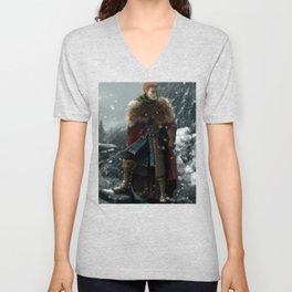 Dragon Age - Alistair Theirin - Winter Unisex V-Neck
