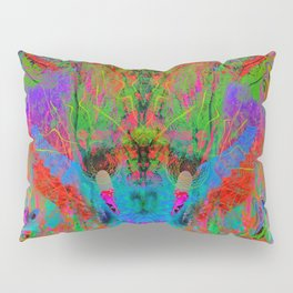 Ocular Fire (psychedelic, visionary) Pillow Sham