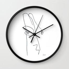 Demeter Moji d2 3-2 w Wall Clock