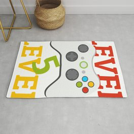 Level 5 Complete 5Th Birthday Rug