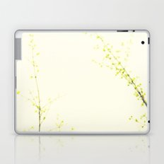 Her Thoughts Were Like Flowers Floating to the Sky Laptop & iPad Skin