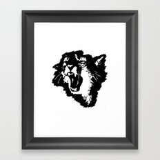 rattatat cat Framed Art Print