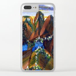 Faraway Place IV Clear iPhone Case