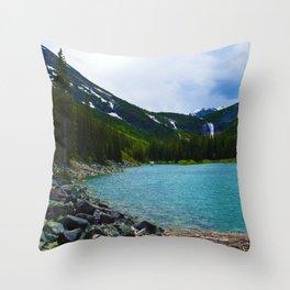 Geraldine Lakes Hike in Jasper National Park, Canada Throw Pillow