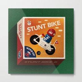 Stunt Bike Metal Print
