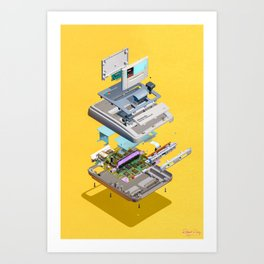 Assembly Required 12 Art Print