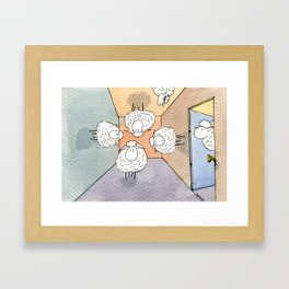 Orientation Day Framed Art Print