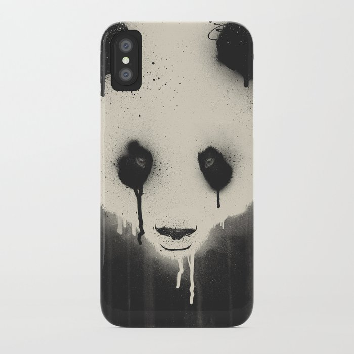PANDA STARE iPhone Case