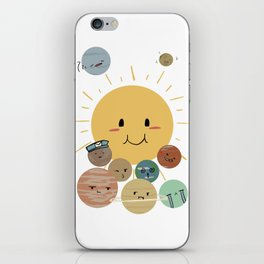 Solar Family iPhone Skin
