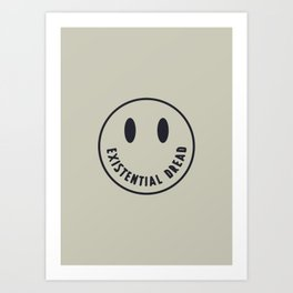 Existential Dread Art Print