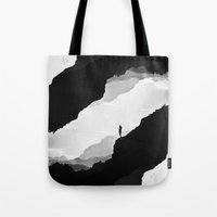 leaves Tote Bags featuring White Isolation by Stoian Hitrov - Sto
