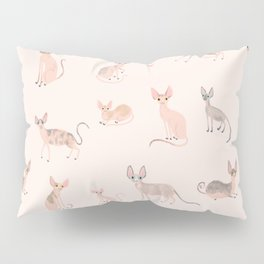 Sphynx Cats Pillow Sham