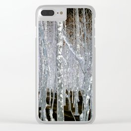 Winter Trees | Forest | Woods | Fantasy | Nadia Bonello | Canada Clear iPhone Case
