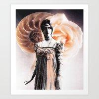 fibonacci Art Prints featuring Fibonacci by Joellart