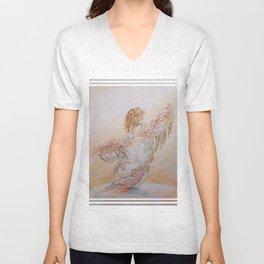 Odyssey Integral - [Angel Related Art] ~ By Jo-Ellen Unisex V-Neck