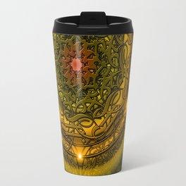 Happiness Mandala Travel Mug