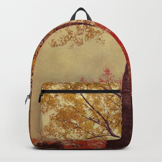Autumn Couple Backpack