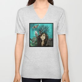 the desert's treasures Unisex V-Neck