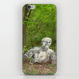Abandoned in the forest iPhone Skin