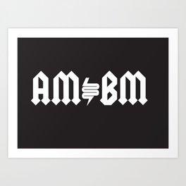 AMBM Art Print