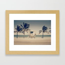 Sunny South Framed Art Print