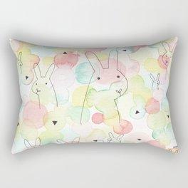 50 Shades Of Bunny Rectangular Pillow