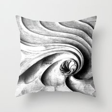 Barcelona Wall #4 Throw Pillow