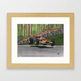 Graham Hill Framed Art Print