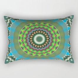 Basal Color Mandala 7 Rectangular Pillow